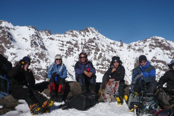 Toubkal in Winter